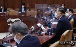 """[머니S포토] 홍남기 """"2025년 반도체 초순수 설계 100% 국산화·시공 60% 추진"""""""