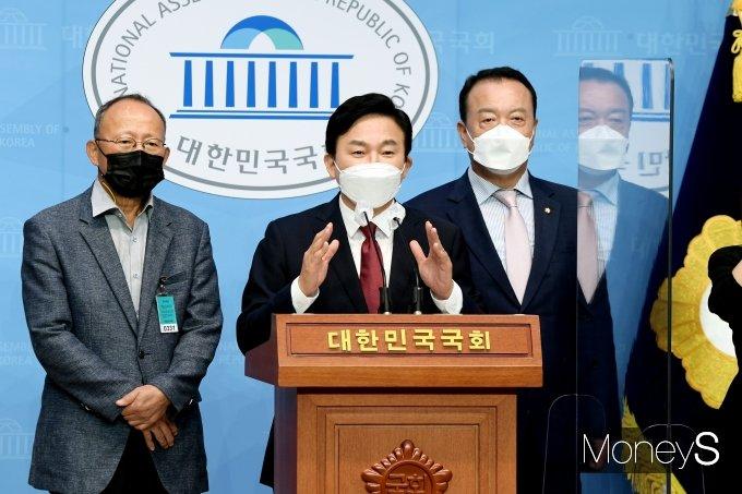 [머니S포토] 원희룡 제주지사 '주택공약 발표'