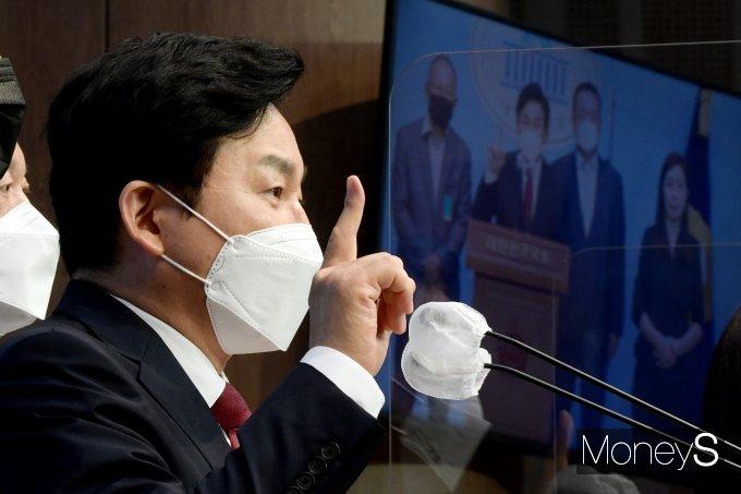 [머니S포토] '원희룡의 국가찬스 1호 공약: 주택 국가찬스'