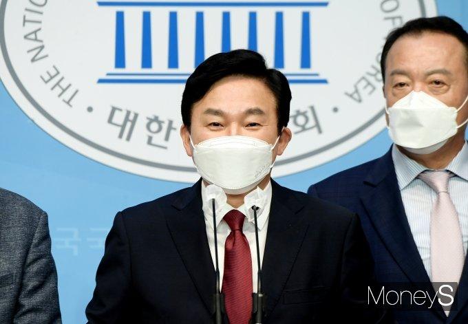 """[머니S포토] 원희룡 """"첫 내집 마련때 정부 50% 투자"""""""