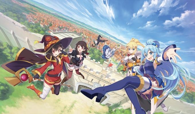 올 하반기 전 세계 출시를 앞둔 넥슨의 '코노스바 모바일'(코노스바)은 일본 소설 '이 멋진 세계에 축복을!' IP(지적재산권)를 활용해 만든 수집형 RPG 게임이다. /사진제공=넥슨