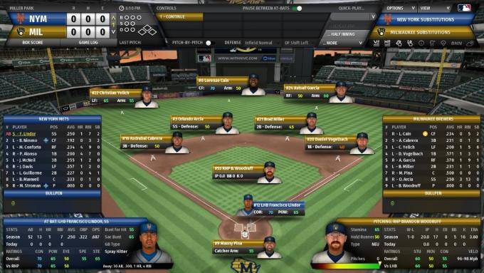 올해로 22년 역사를 자랑하는 'OOTP'는 컴투스가 지난해 인수한 독일 중견 게임사의 PC 기반 야구 매니지먼트 게임이다. 사진은 OOTP22 플레이화면. /사진제공=컴투스