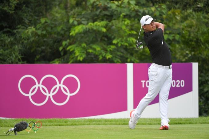 2020 도쿄 올림픽 골프 남자 1라운드의 김시우(국제골프연맹) © 뉴스1