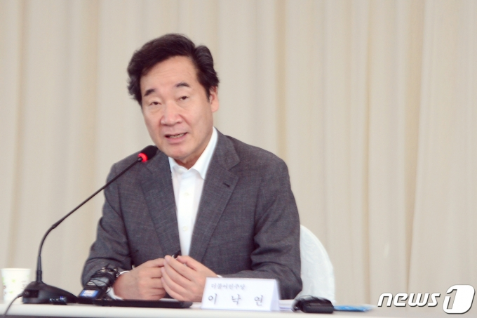 여권 대권주자인 이낙연 전 더불어민주당 대표. 2021.7.15/뉴스1 © News1 정다움 기자