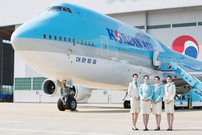 대한항공이 명실상부한 세계 최고의 항공사에 올랐다. 사진은 대한항공 보잉 B747-8i /사진제공=대한항공