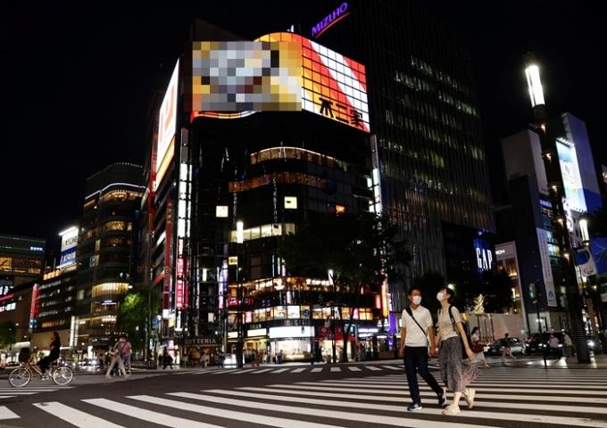 일본 정부가 긴급사태 선언 지역을 확대할 전망이다. 사진은 지난 29일 일본 도쿄의 모습. /사진=로이터