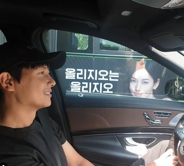 배우 이상우가 아내인 배우 김소연에 대한 애정을 드러냈다. /사진=인스타그램 캡처