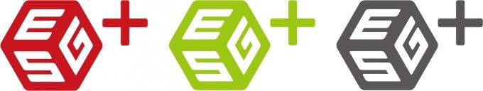 (왼쪽부터) 컴투스, 게임빌, 양사 통합 ESG플러스위원회 BI. /사진제공=게임빌
