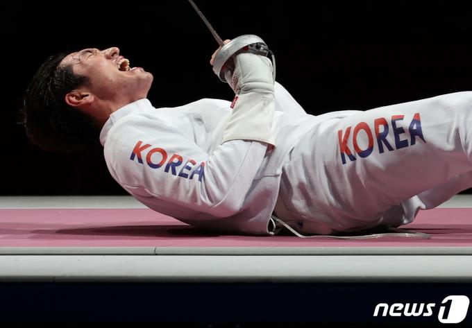 [사진] 포효하는 박상영