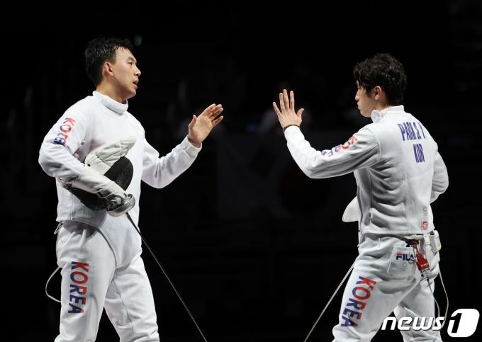[사진] 박상영 '마지막 출격'