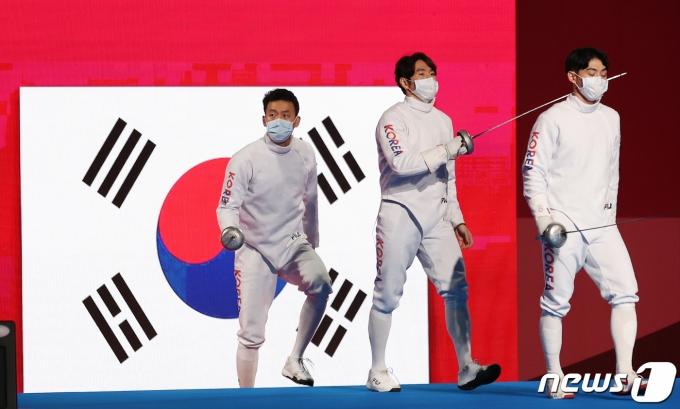 [사진] 자랑스러운 대한민국 펜싱 대표팀