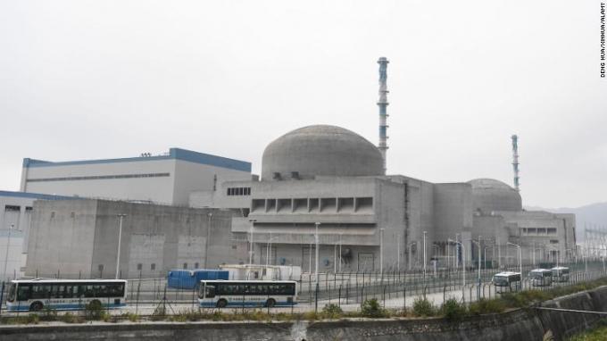 중국 광둥성 타이산 원자력발전소 © 뉴스1