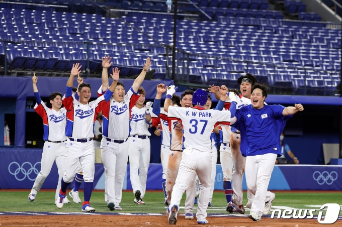 야구 대표팀 선수들/뉴스1 © News1 이재명 기자
