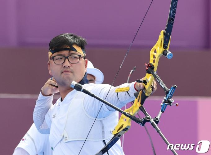 양궁 김우진/뉴스1 © News1 송원영 기자