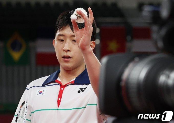 [사진] 허광희 '아쉽지만 잘했다'