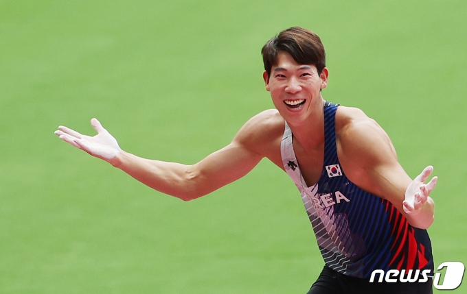 [사진] 진민섭 '좋다 좋아'