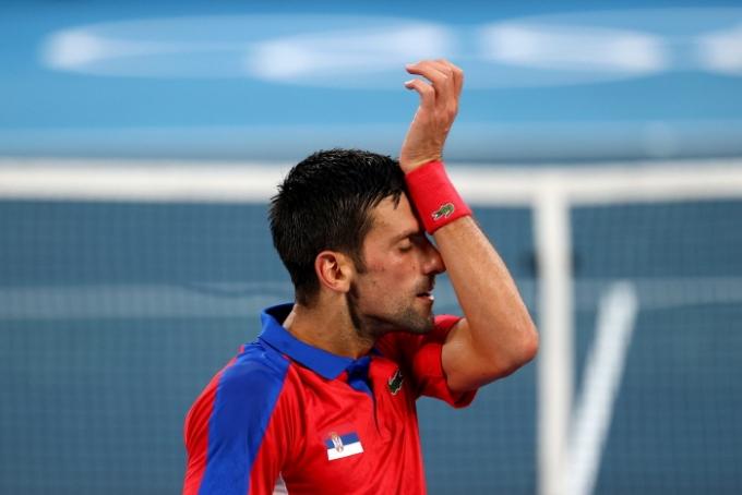 페더러, 나달의 불참으로 금메달 가능성을 높이 본 테니스 세계랭킹 1위 노박 조코비치(34·세르비아)의 '골든 그랜드슬램' 도전이 물거품으로 돌아갔다. /사진=로이터