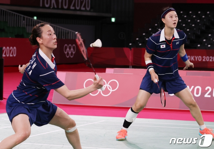 [사진] 이소희-신승찬 '메달을 향해'