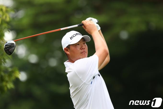 도쿄 올림픽 남자 골프의 임성재.  © 로이터=뉴스1