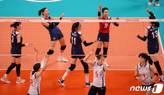[사진] 대한민국 '일본 이기자!'