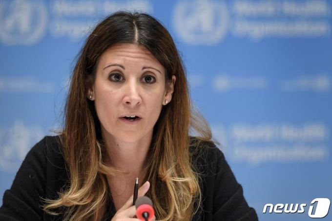 마리아 반커크호브 세계보건기구 코로나19 기술팀장 2020.07.03 © AFP=뉴스1