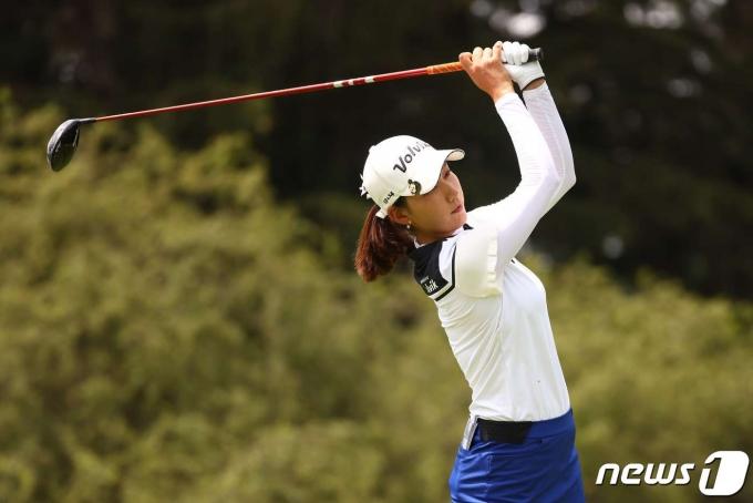 미국여자프로골프(LPGA)의 최운정.  © AFP=뉴스1