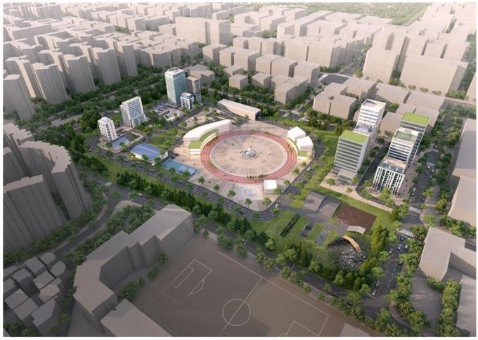 마곡 국가로봇테스트필드 조감도.(서울시 제공)© 뉴스1