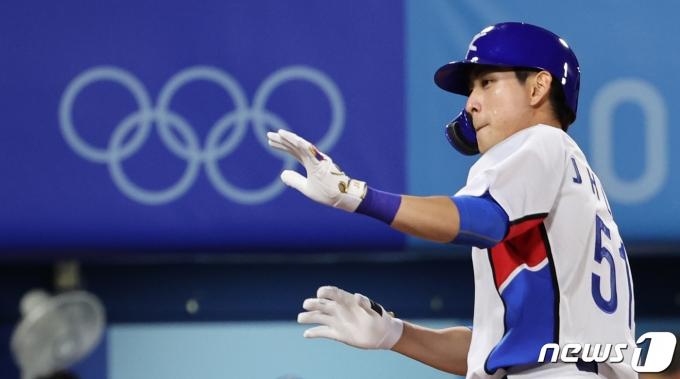 야구 대표팀 이정후./뉴스1 © News1 이재명 기자