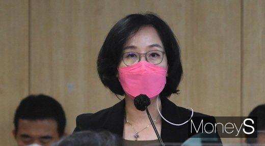 김현아 SH 사장 후보자가 1일 자진사퇴를 표명했다. /사진=장동규 기자