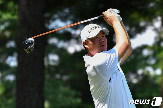 2020 도쿄 올림픽 한국 골프 대표 임성재. © AFP=뉴스1