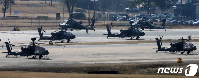 올해 전반기 한미 연합 지휘소연습(CCPT).  2021.3.8/뉴스1 © News1 조태형 기자
