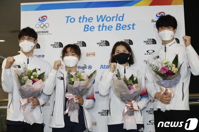 [사진] 대한민국 수영 파이팅!