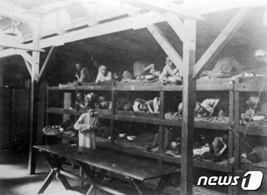 제2차 세계대전 당시 독일 아우슈비츠 수용소. © 로이터=뉴스1