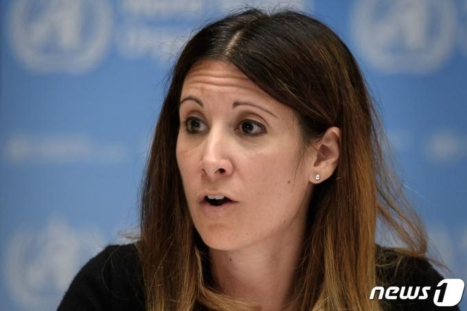 마리아 반커크호브 WHO 코로나19 기술팀장 2020.07.03 © AFP=뉴스1