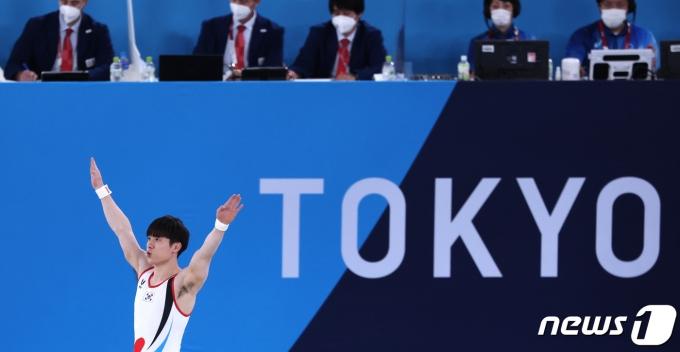 [사진] 도쿄올림픽의 김한솔
