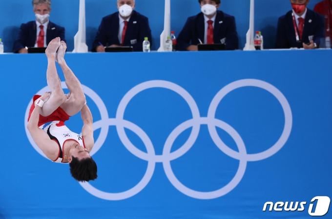 [사진] 김한솔의 '올림픽 투혼'