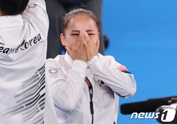 [사진] 동메달 '깜짝'