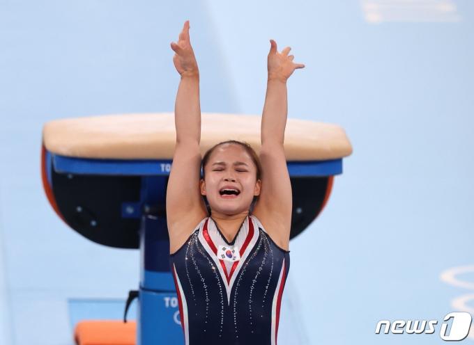 [사진] 동메달 거머쥔 여서정