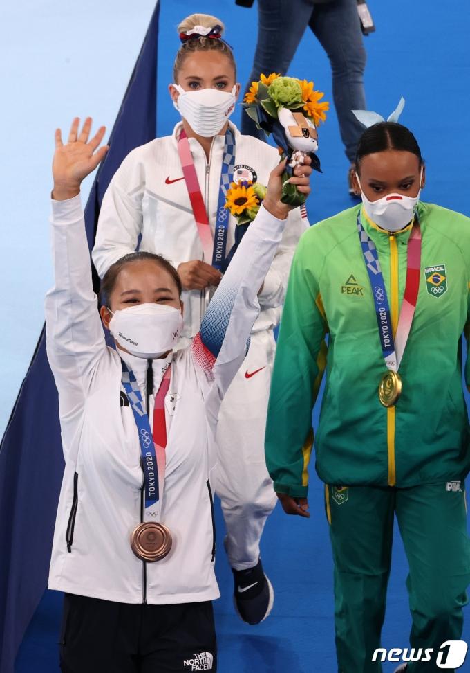 [사진] '동메달이에요!'