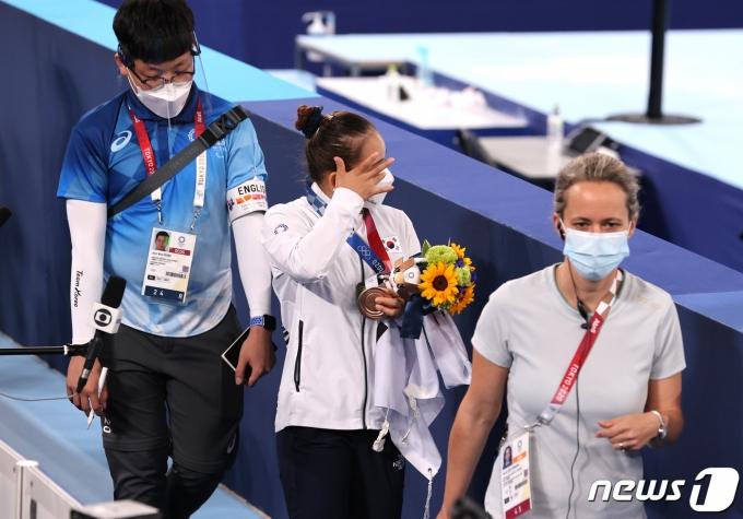 [사진] 감동의 동메달