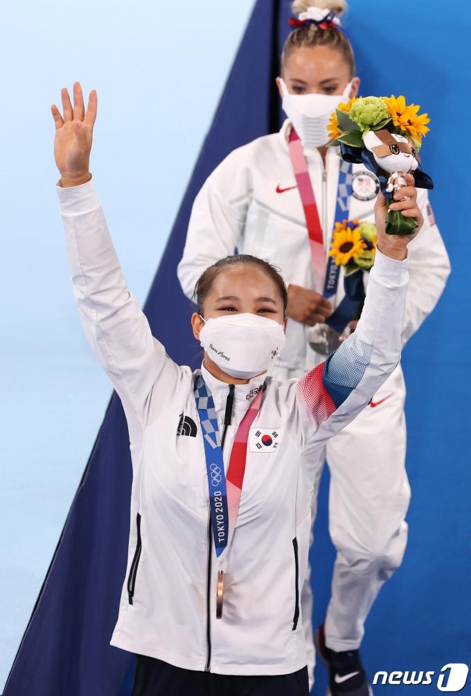 [사진] '감동적인 동메달'