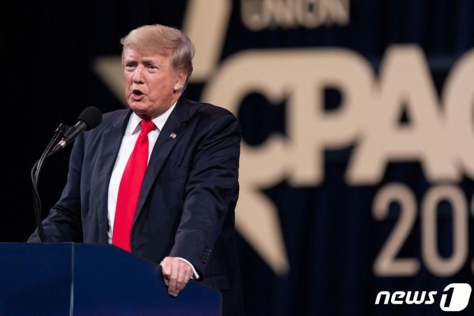 도널드 트럼프 전 미국 대통령. © AFP=뉴스1 © News1 정윤영 기자