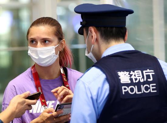 2일(이하 현지시각) 로이터 통신은 강제 귀국 위기에 처한 크리스티나 치마누스카야(24)가 유럽에 망명을 요청할 것이라고 보도했다. /사진=로이터