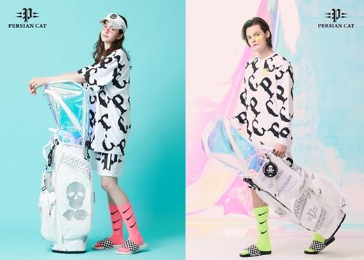 페르시안캣이 스페셜에디션 골프백을 신규 출시했다./사진제공=페르시안캣