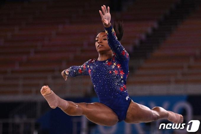 시몬 바일스가 3일 열릴 2020 도쿄 올림픽 기계체조 여자 평균대 결선에 출전한다. © AFP=뉴스1