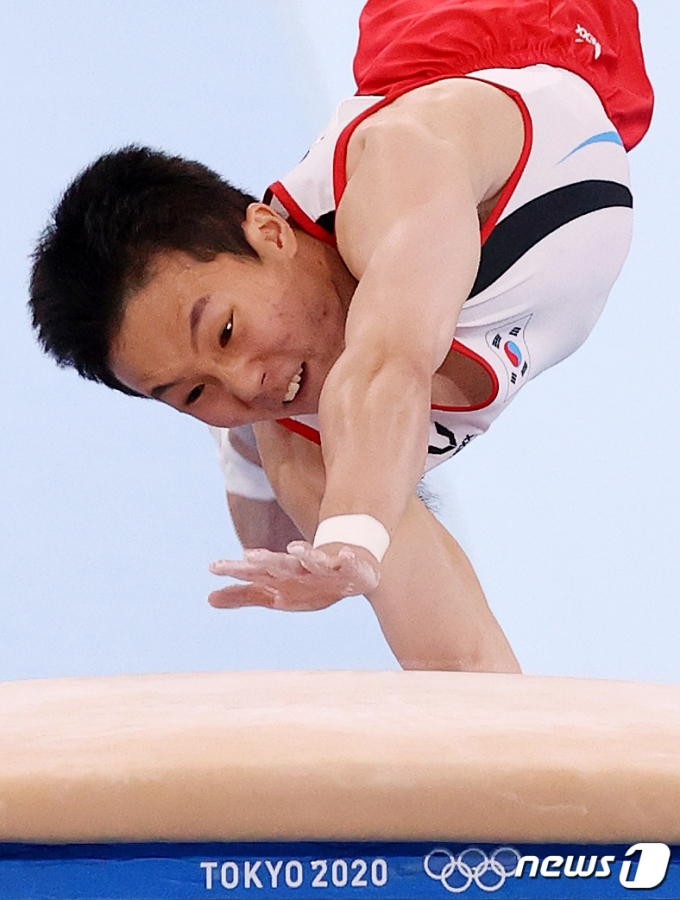[사진] 신재환 '도쿄올림픽 금메달을 향해'