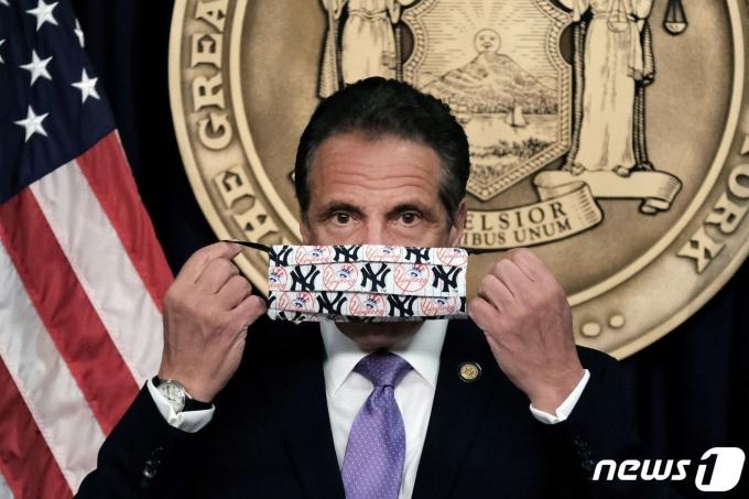 앤드류 쿠오모 뉴욕 주지사. © 로이터=뉴스1 © News1 원태성 기자