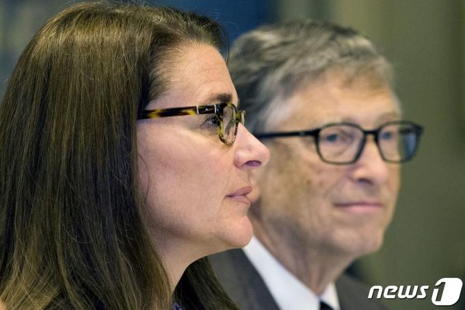 빌 게이츠와 멀린다 게이츠 부부 © 로이터=뉴스1
