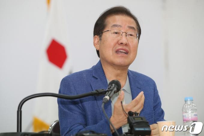 국민의힘 홍준표 의원. 2021.7.16/뉴스1 © News1 공정식 기자