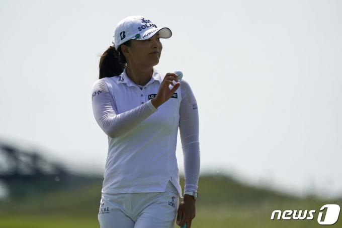 여자 골프 세계랭킹 2위 고진영. © AFP=뉴스1